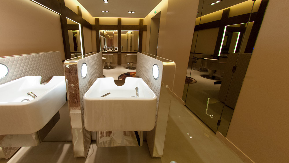 Global gallery salon spa design design x mfg in ct usa for Sarah guetta salon