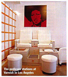 Design X Furniture featured in Nails Magazine
