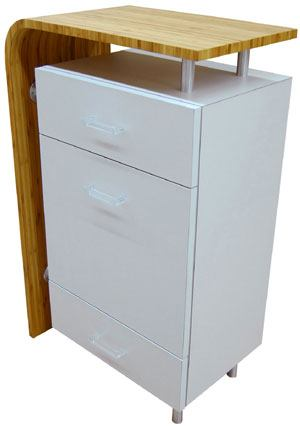 Styling cabinet design x mfg salon equipment salon for Armoire salon design