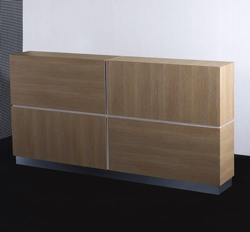 Dido reception desk 63in design x mfg salon equipment for Design x salon furniture