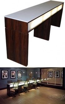 New York Nail Bars Design X Mfg Salon Equipment Salon