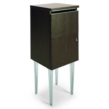 Styling cabinet 90 with laminated door and drawer design for Armoire salon design
