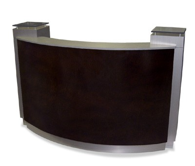renaissance reception desk 60 design x mfg salon. Black Bedroom Furniture Sets. Home Design Ideas