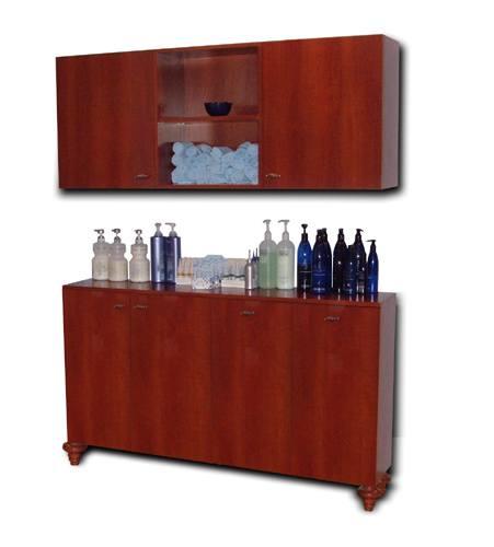 Jw cabinets design x mfg salon equipment salon for Armoire salon design
