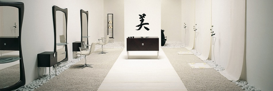 Minimal Zen Salon Furniture Collection.