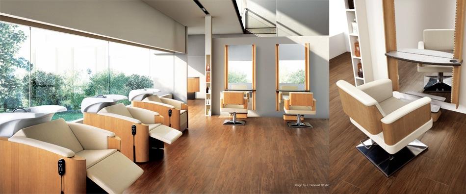 Italian Designed Eco Friendly Salon Furniture.