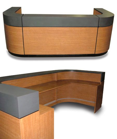 U shaped desk design x mfg salon equipment salon for Design x salon furniture