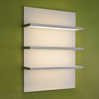 Pod Display Case in White with Lighting. Pod Display Case in White with Lighting  Design X Mfg   Salon